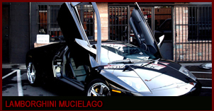 Lamborghini Murcielago Black on Black with Chrome wheels and yellow Calipers, Power seats, Power Windows, Power Seats with Suede Inserts.