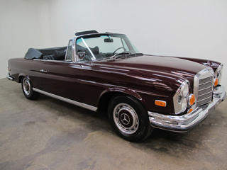 buying a vintage mercedes 280se 3 5 beverly hills car club. Black Bedroom Furniture Sets. Home Design Ideas