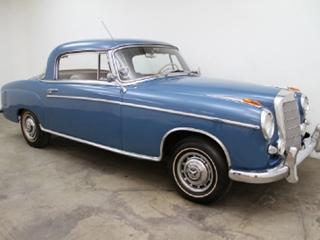 1958 Mercedes Benz 220SE Coupe
