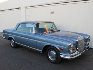 Buying a vintage 1968 mercedes benz 280se coupe beverly for 1968 mercedes benz 280 se convertible