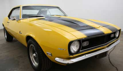 Chevrolet Camaro First Generation hardtop