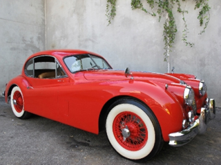 1955 Jaguar XK140 Fixed Head Coupe