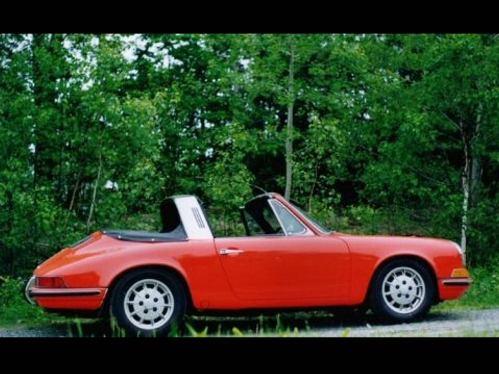 1969 Porsche 911 S Soft Window Targa
