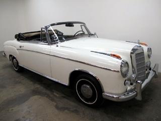 1959 Mercedes Benz 220SE Cabriolet