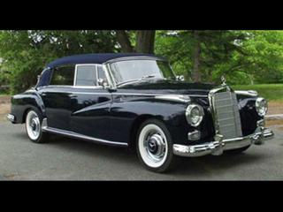 1957 Mercedes Benz 300D Cabriolet