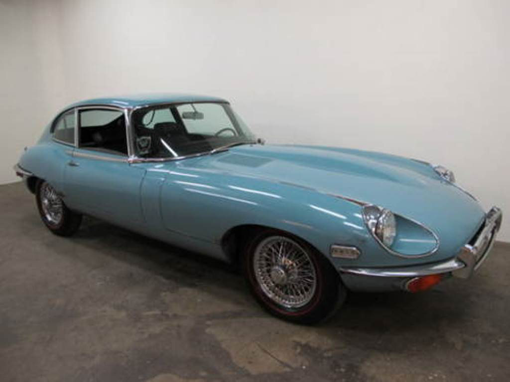 1970 Jaguar E Type 2+2 Coupe