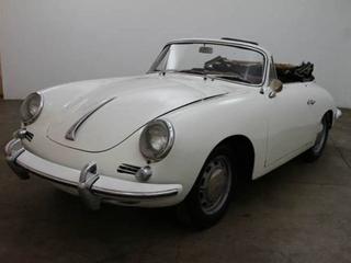 1963 Porsche 356 C Cabriolet