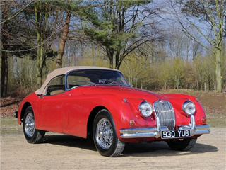 1961 Jaguar XK150 Roadster