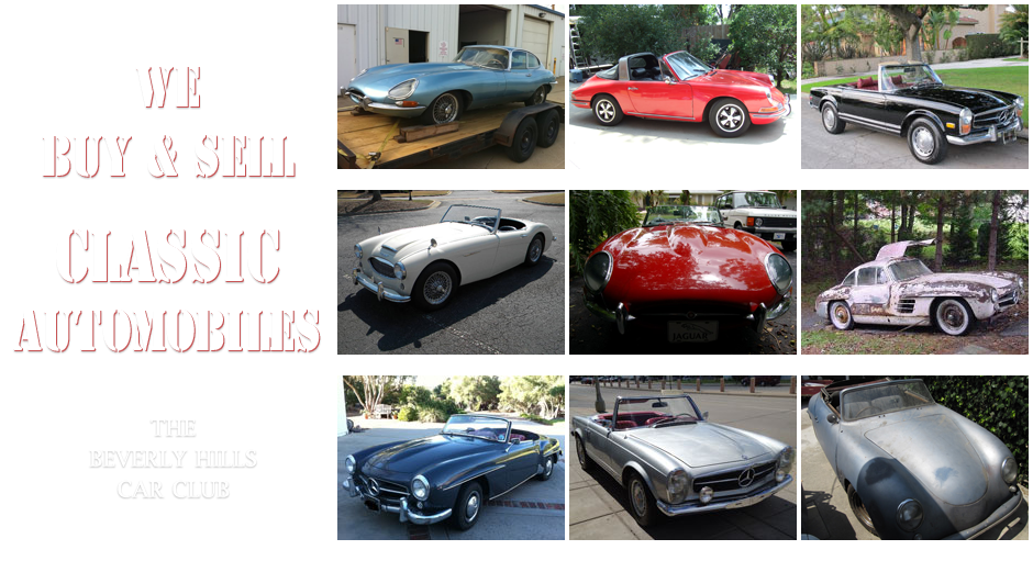 Buy Sell Classic Automobiles | Beverly Hills Car Club