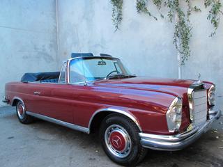 1962 Mercedes Benz 220SE 111