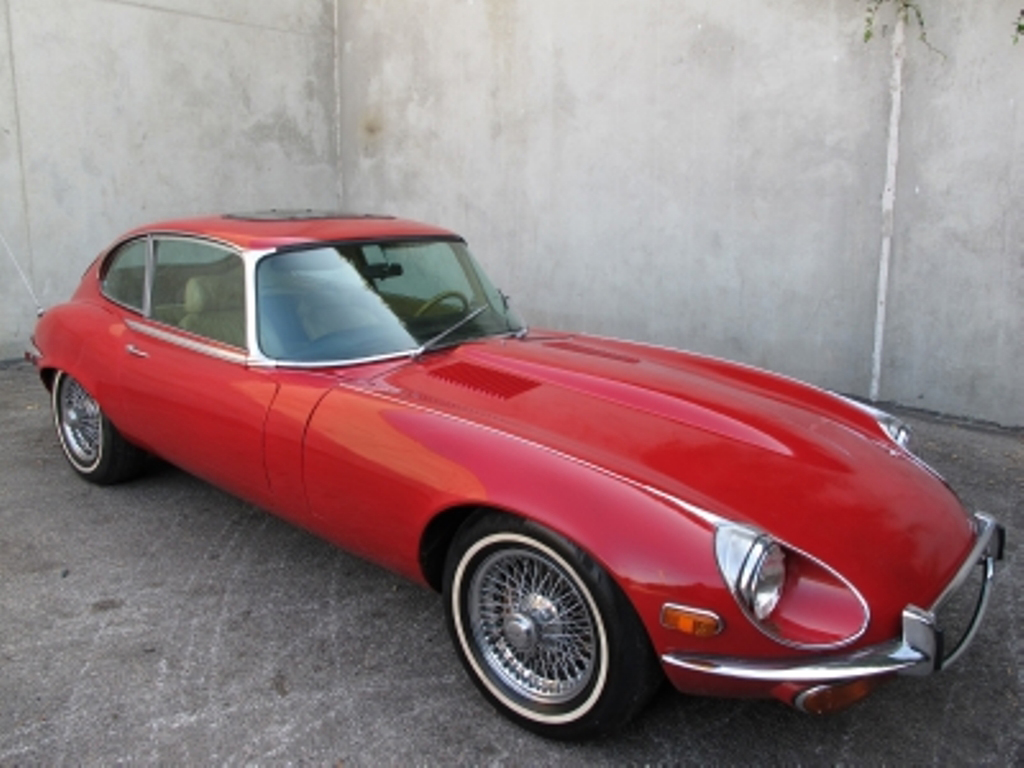 1971 Jaguar E Type 2+2 Coupe