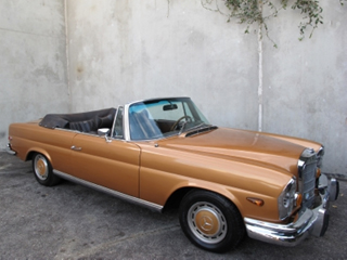 1967 Mercedes Benz 280SE Coupe