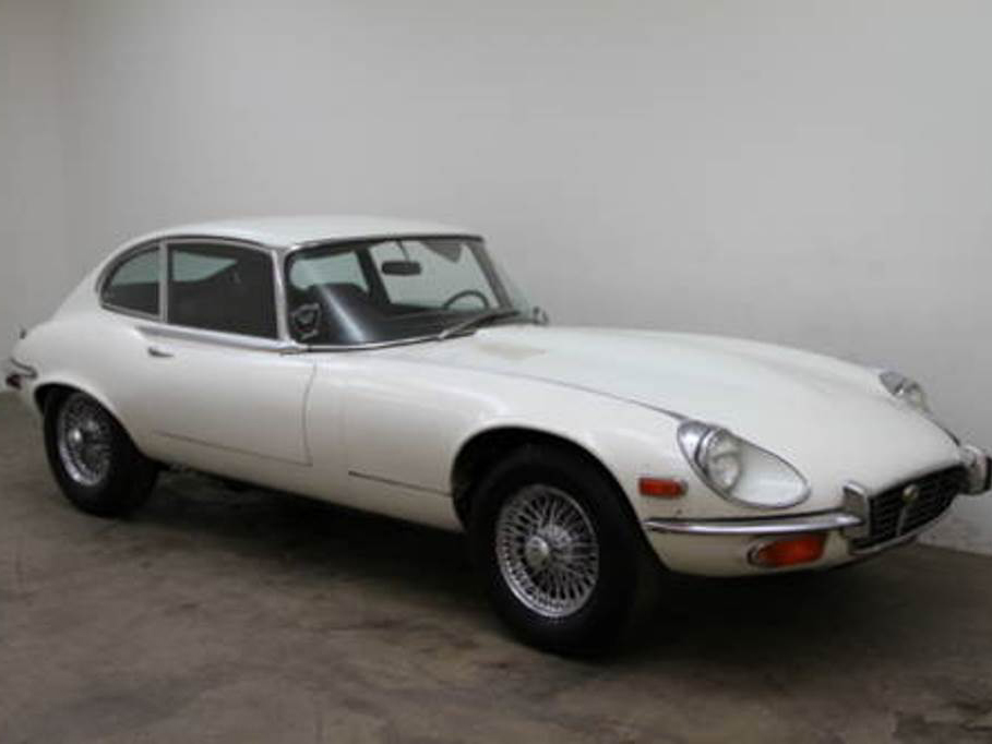 1972 Jaguar E Type 2+2 Coupe