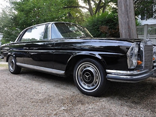 1965 Mercedes Benz 220SE Coupe