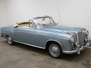 1956 Mercedes Benz 220S Coupe