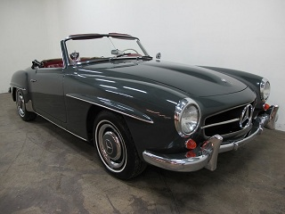Buying a vintage 1963 mercedes benz 190sl beverly hills for Mercedes benz of beverly hills inventory