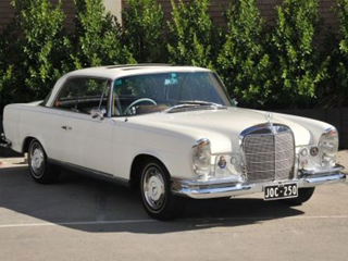 1966 Mercedes Benz 250SE Coupe