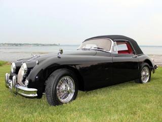 Buying a vintage 1961 jaguar xk150 drophead coupe beverly hills car club - Jaguar xk150 drophead coupe ...