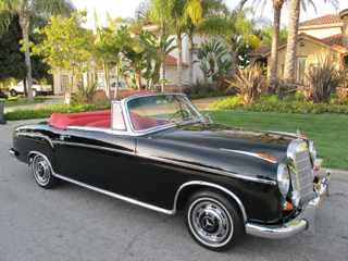 1959 Mercedes Benz 220S Coupe
