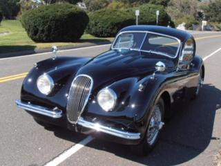 1954 Jaguar XK120 Fixed Head Coupe
