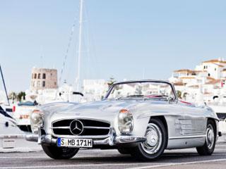Rent Classic Mercedes