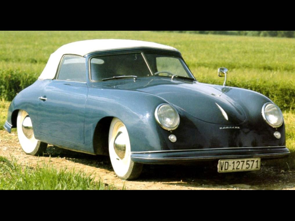 1949 Porsche 356 Pre-A Cabriolet