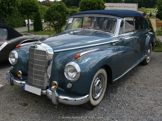 Buying a vintage 1955 mercedes benz 300c cabriolet for Mercedes benz 300c