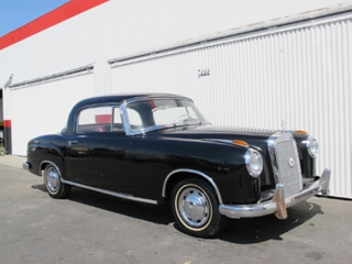 1961 Mercedes Benz 220SE Coupe