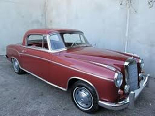 1959 Mercedes Benz 220SE Coupe