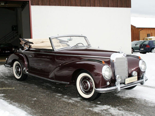 Buying A Vintage 1953 Mercedes Benz 300S Cabriolet