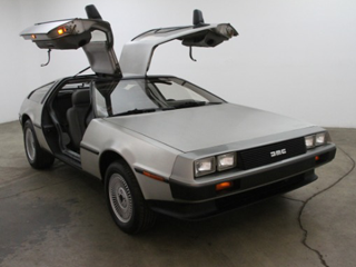 Classic Delorean Rental
