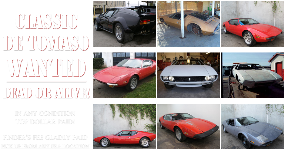 Beverly Hills Car Club - De Tomaso