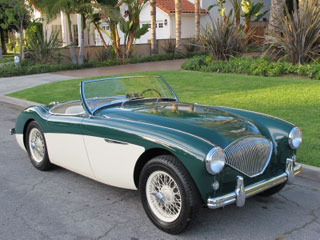 We Have Classic Austin Healeys For Rent Beverly Hills Car Club