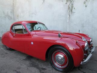 1951 Jaguar XK120 Fixed Head Coupe