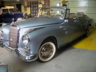 1958 Mercedes Benz 300D Cabriolet