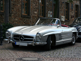 1960 Mercedes Benz 300SL Roadster