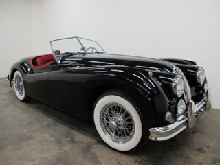 Amazing 1956 Jaguar XK140 Roadster