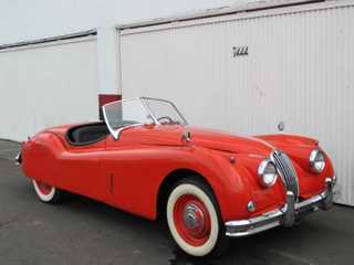 buying a vintage 1957 jaguar xk140 roadster beverly hills car club
