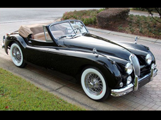 55 jaguar xk140 roadster