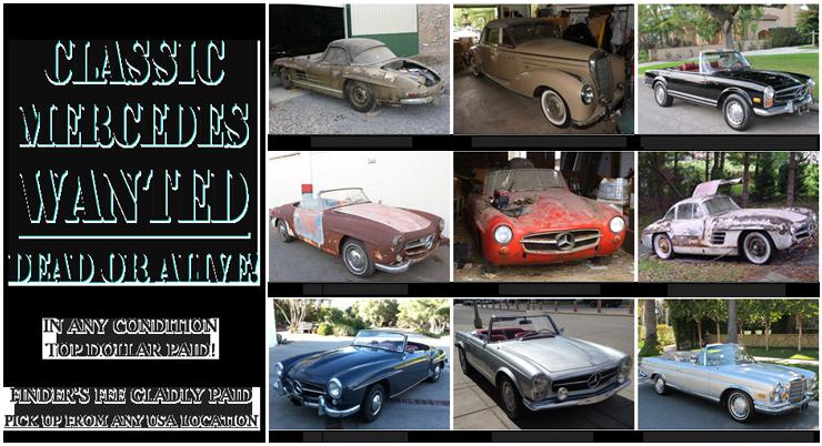Sell Classic MercedesBenz Automobiles Beverly Hills Car Club - Classic car finder