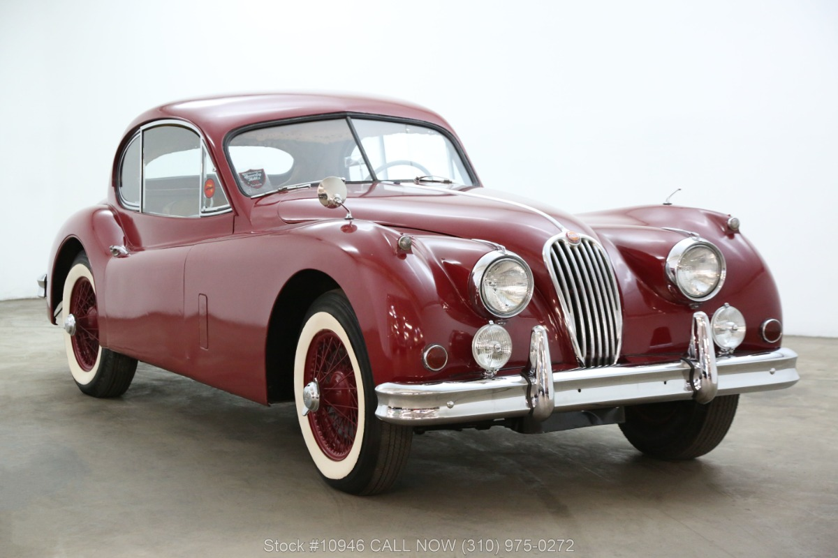 1955 Jaguar XK140 MC Fixed Head Coupe with overdirve
