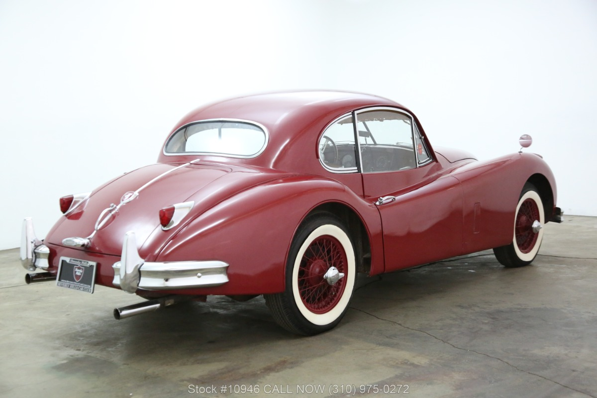 Used 1955 Jaguar XK140 MC Fixed Head Coupe with overdirve | Los Angeles, CA