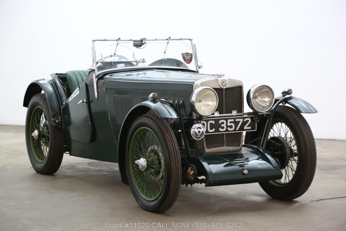 1933 MG J2 Convertible