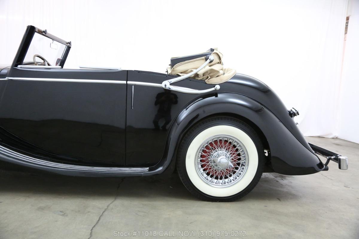 Used 1948 Jaguar Mark IV Drophead Coupe Left Hand Drive   Los Angeles, CA