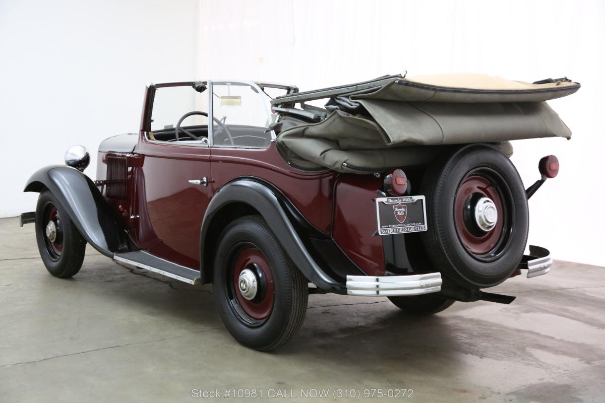 1933 BMW 303 Cabriolet | Beverly Hills Car Club