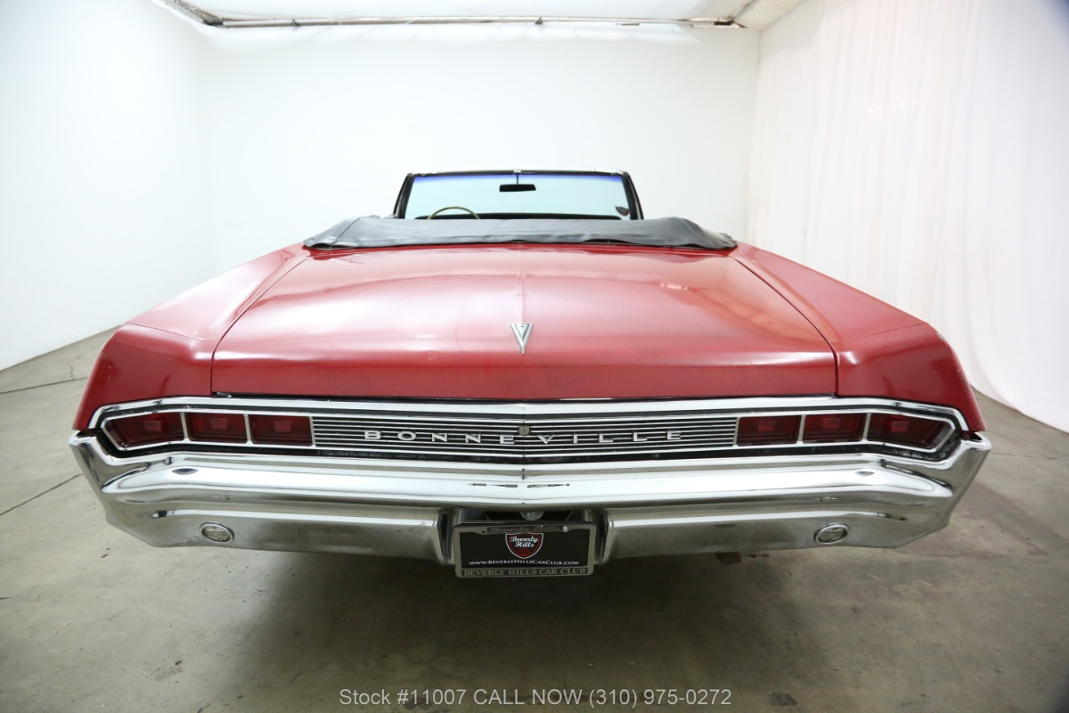 Used 1965 Pontiac Bonneville Convertible | Los Angeles, CA