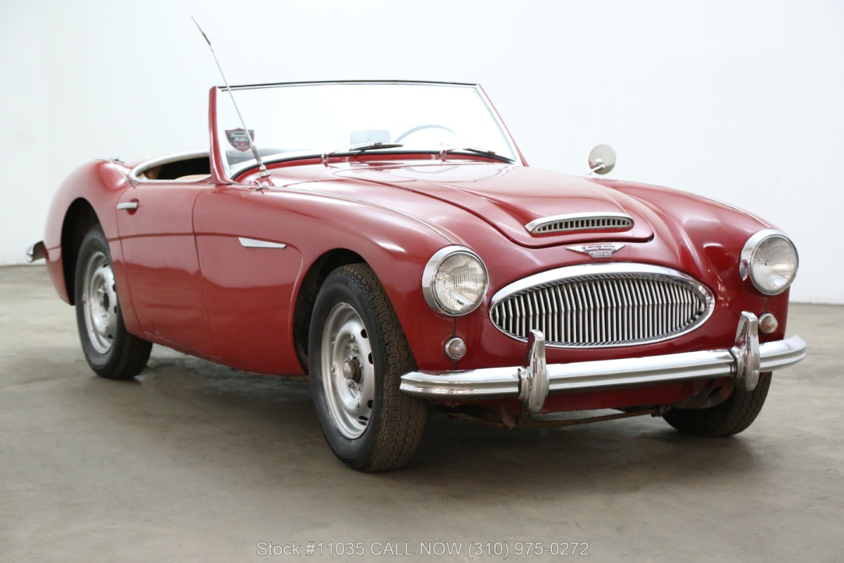 1962 Austin-Healey 3000 BN7 Tri-Carb with 2 Tops