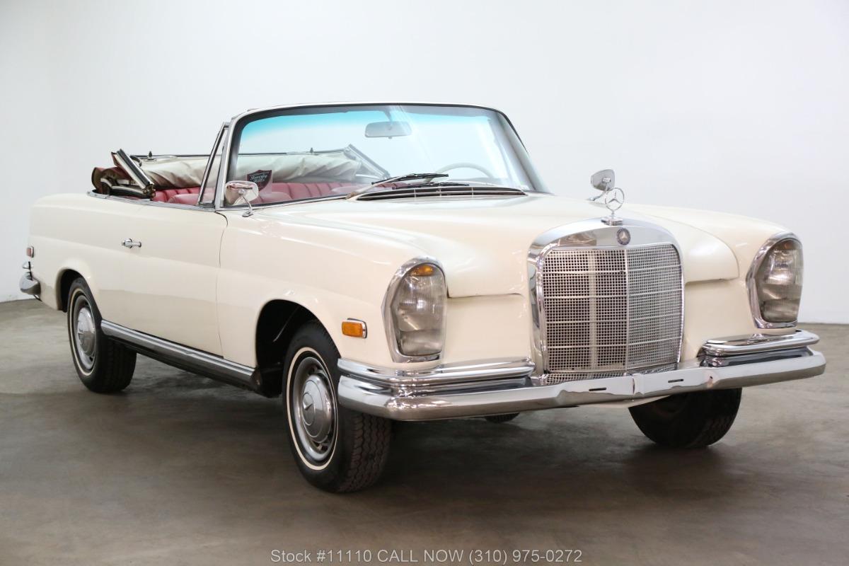 1962 Mercedes-Benz 220SE Cabriolet