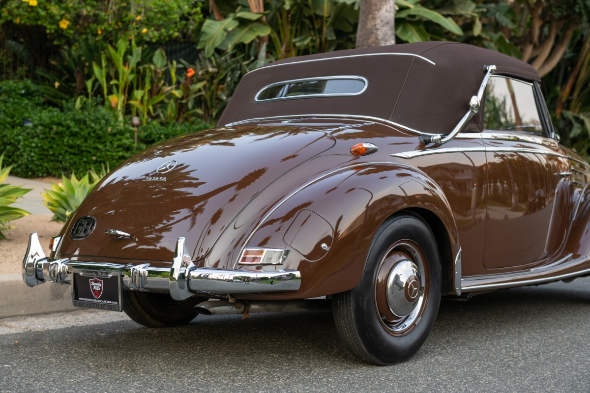 Used 1954 Mercedes-Benz 220 Cabriolet A | Los Angeles, CA