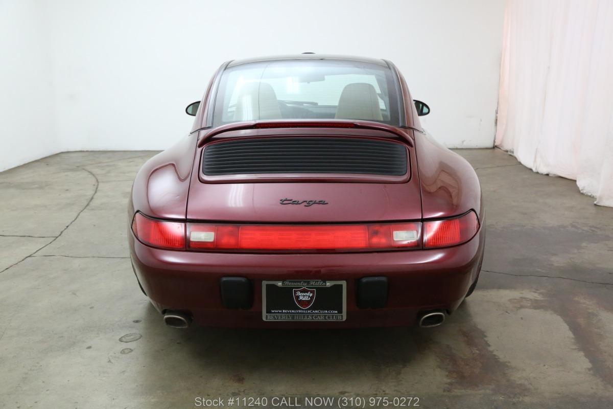 Used 1997 Porsche 993 Targa   Los Angeles, CA